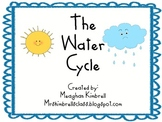 The Water Cycle Kindergarten Chart and Activity