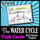 The Water Cycle - Task Cards