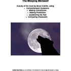 The Weeping Werewolf Comprehension Questions