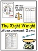 The Weight Is Right! A Measurement Game (Great Whole-Class