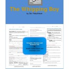 The Whipping Boy Complete Literature and Grammar Unit