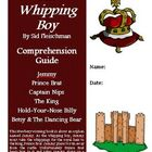 The Whipping Boy Reading Activities Super Bundle