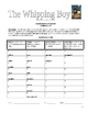 The Whipping Boy  Sid Fleischman Complete Literature Unit
