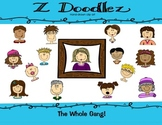 The Whole Gang -- Clip Art