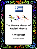 History of the Olympics: A Webquest/Extension Activities