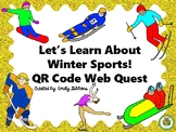 QR Code Task Cards- Winter Sports