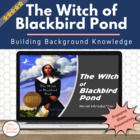 The Witch of Blackbird Pond - Background Information