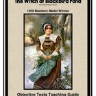 The Witch of Blackbird Pond:  Objective Tests Teaching Pack