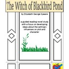 The Witch of Blackbird Pond guided reading plan