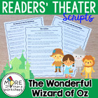 The Wonderful Wizard of Oz--10 Reader's Theater Scripts