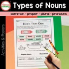 The Write Stuff {NOUNS} for  Emergent Writers