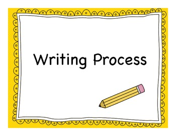 The Writing Process - Set 2