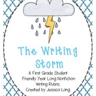 The Writing Storm- A Year Long Nonfiction Rubric