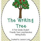 The Writing Tree- A Year Long Narrative Writing Rubric