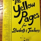 The Yellow Pages for Students & Teachers from The Kids' St