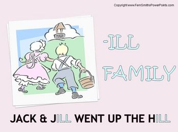 The -ill Family Packet ~ PowerPoint, Center Game & Spellin