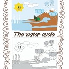 The water cycle- 2 PNG graphics