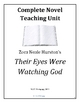 Their Eyes Were Watching God, lesson plans, unit, 68 pages. 