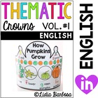 Thematic Crowns in English- volume #1 for sept to dec