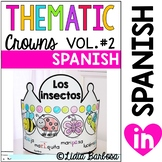Thematic Crowns in Spanish- volume #2 for Jan. to August