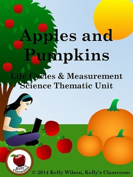 Apples and Pumpkins Unit Bundle (science, measurement, math)