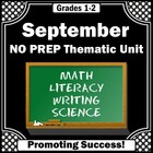 Thematic Unit: September Back to School