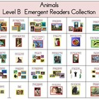 Theme 3 Animals Emergent Readers Level B Collection