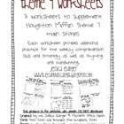 Theme 7 Supplemental Worksheets