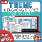 Theme Task Cards: Story Cards for CCSS.ELA-Literacy.RL.26
