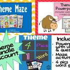 Theme Unit Bundle: Powerpoint, Questions, Videos, &amp; Games 