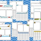 Themed Classroom Newsletters (airplanes, pirates, and insects)