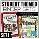 Themed Classroom Organizational Binder Pack 1
