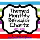 Themed Monthly Behavior Charts
