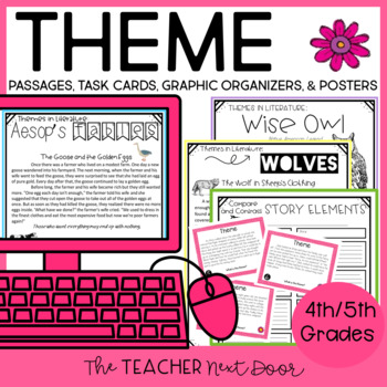 Themes in Literature: Common Core for 4th and 5th Grade