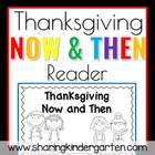 Then and Now Thanksgiving Reader