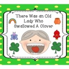 There Was An Old Lady Who Swallowed A Clover Fun