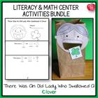 There Was An Old Lady Who Swallowed A Clover! Lesson Plan