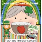 There Was An Old Lady Who Swallowed A Clover... St. Patrick&#039;s Day