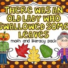 There Was An Old Lady Who Swallowed Some Leaves {Math and