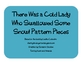 There Was a Cold Lady Who Swallowed Some Snow Pattern Pieces
