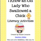 There Was an Old Lady Who Swallowed a Chick Literacy Activities