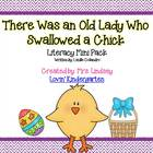 There Was an Old Lady Who Swallowed a Chick - Literacy Mini Pack