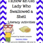 There Was an Old Lady Who Swallowed a Shell Literacy Activities