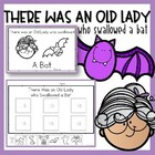 There was an Old Lady Who Swallowed a Bat. Emergent Reader