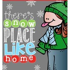 "There's ""Snow"" Place Like Home {Winter Writing Activities"