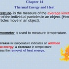 Thermal Energy and Heat Power Point - Physical Science