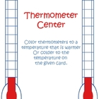 Thermometer: Warmer or Colder