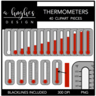 Thermometers {Graphics for Commercial Use}