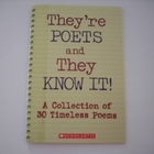 They're Poets and They Know It!
