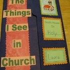 Things I See in Church Catholic Lapbook